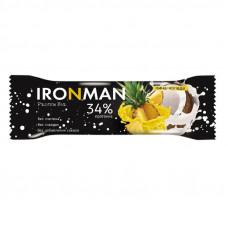 IRONMAN™ протеиновый батончик без глазури  (пина-колада) - 50 г